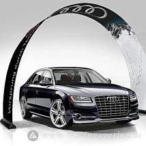 Bannerbow-BAS-Praesentation-Auto-Autohaus-Audi-Produktpraesentation-Display-Bogen-Rollup-Werbung-bedruckt-Print-Drucken-Werbeflaeche-1