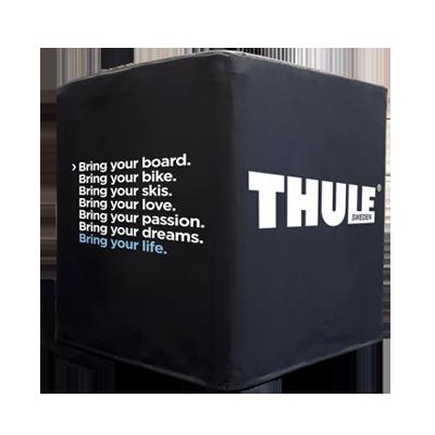 Sitzwürfel Thule schwarz