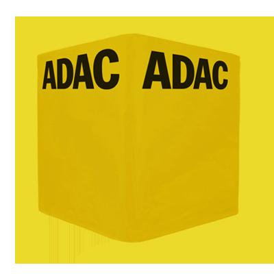 Gelber Sitzwürfel ADAC
