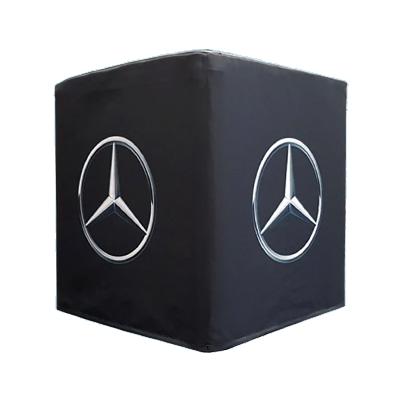Sitzwürfel Mercedes schwarz