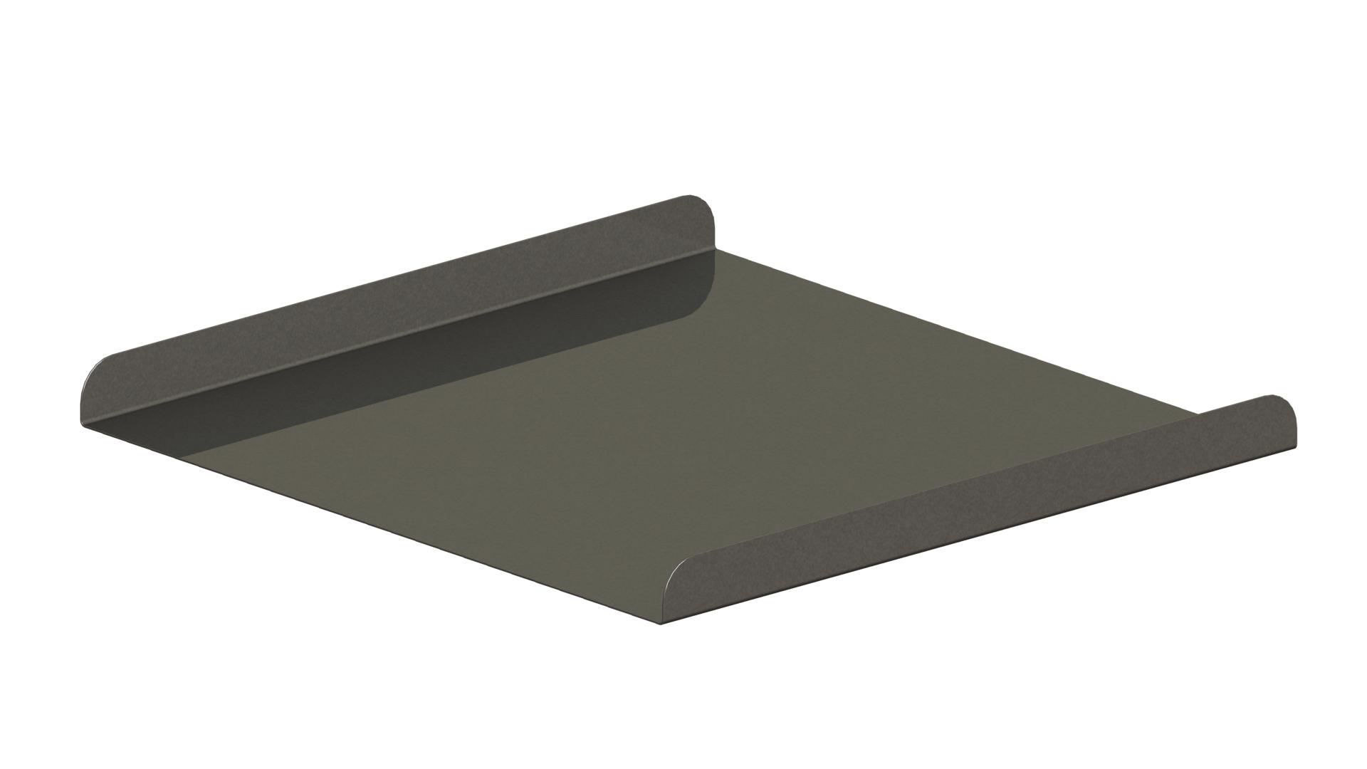 Tischplatte aus Metall für Sitzwürfel