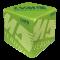 Sitzwürfel LVM Versicherung hellgrün