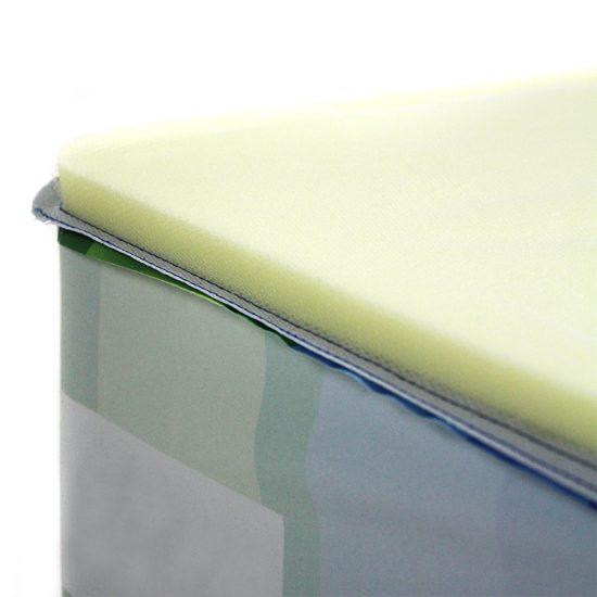 Produktbild Flatcube – bedruckbarer faltbarer Sitzwürfel