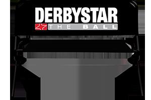 Sitzbank mit Derbystar Logo