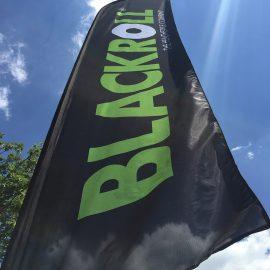 Logo Beachflag, Blackroll