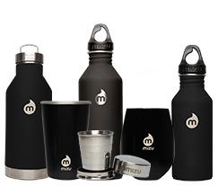 Thermosflaschen und Gläser