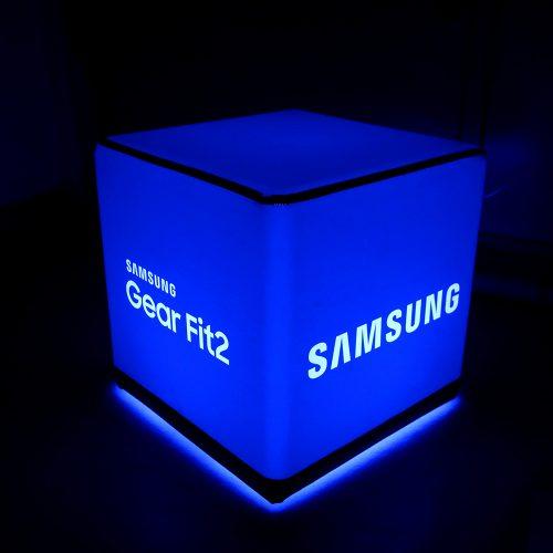 LED Sitzwürfel bedrucken