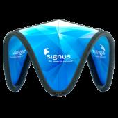 Aufblasbarer und bedruckbarer Eventpavillion - Signus One