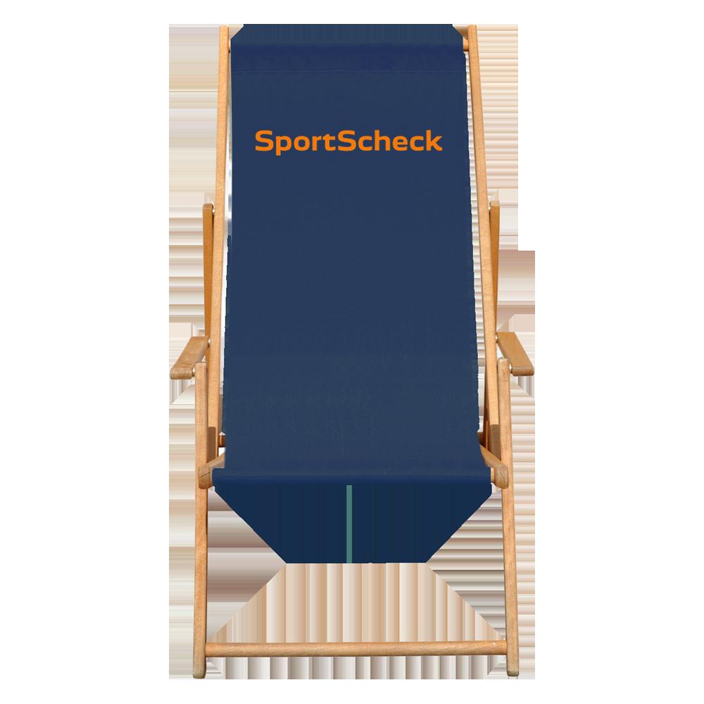 bas liegestuhl der klappbare strandstuhl aus holz mit werbung bas innovation. Black Bedroom Furniture Sets. Home Design Ideas