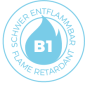 B1-flame-retardant-M1-schwer-entflammbar-norm