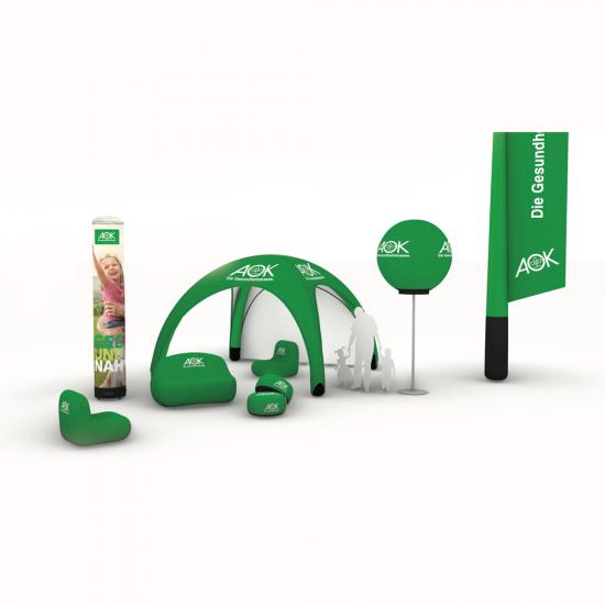 Aufblasbares Sofa - Aufblasbare Möbel & Sessel - Werbefahnen - LED Ballon von BAS