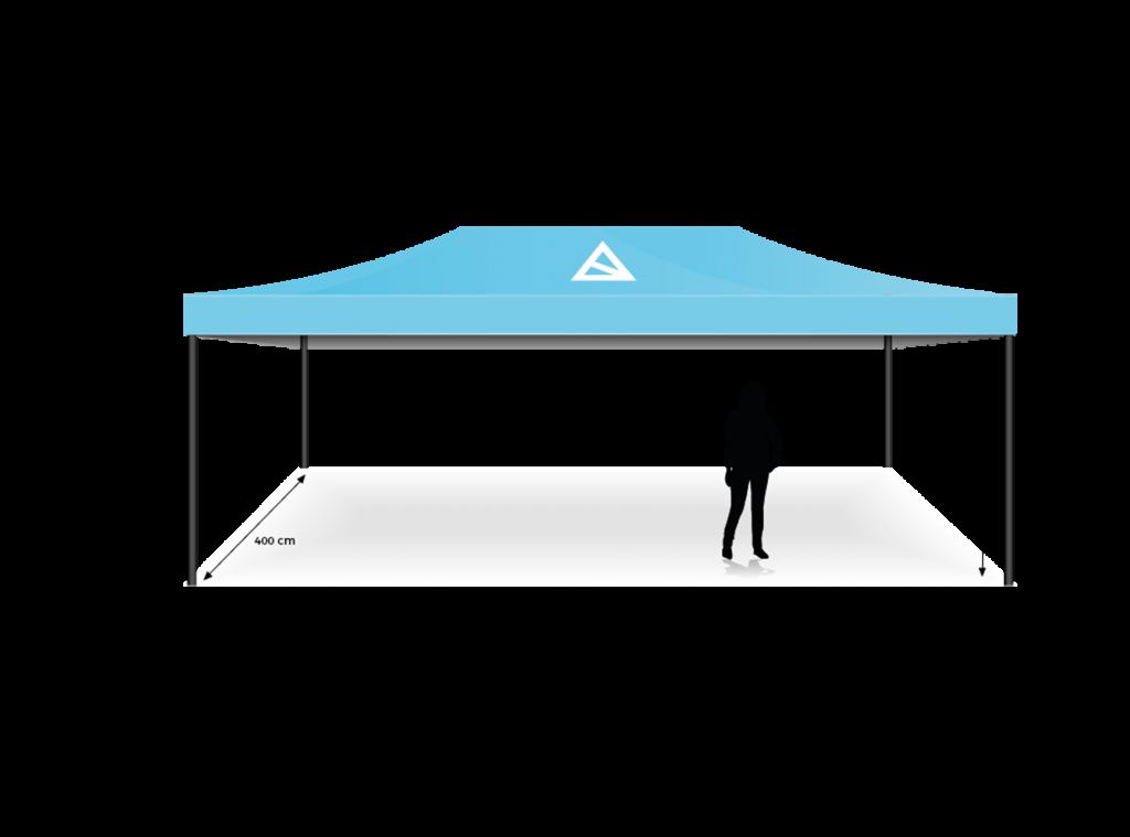 Eventzelt mit Logo