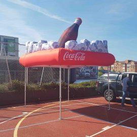 3D Popup Faltzelte mit aufblasbarem Dach