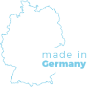 gefertigt produziert in Deutschland