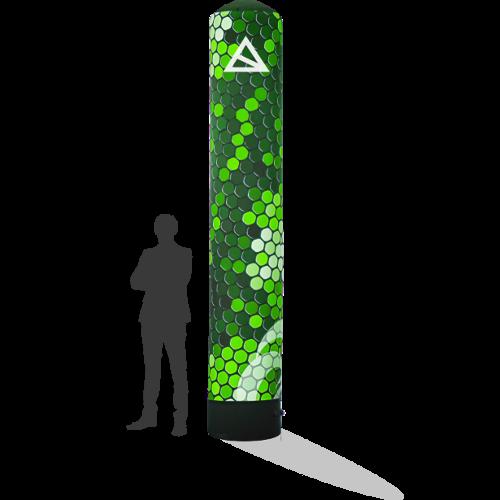 Werbesäule 3,5m mit Druck für Dein Event in verschiedenen Größen