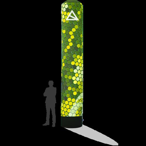 Werbesäule 5m mit Druck für Dein Event in verschiedenen Größen