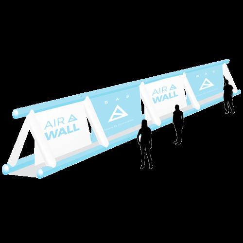 Airwall aufblasbar
