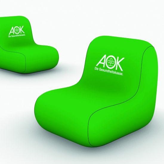 Produktbild aufblasbare Sessel