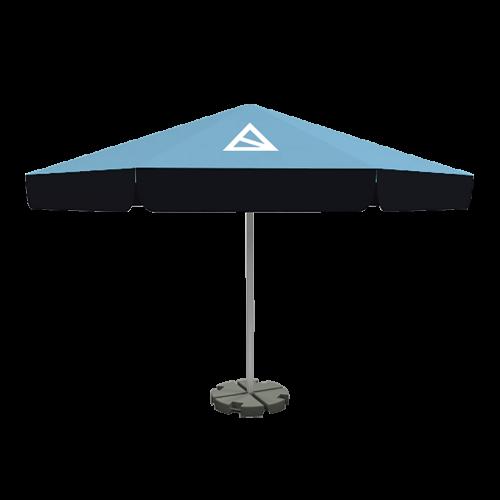 Sonnenschirm mit Paneelen 5m