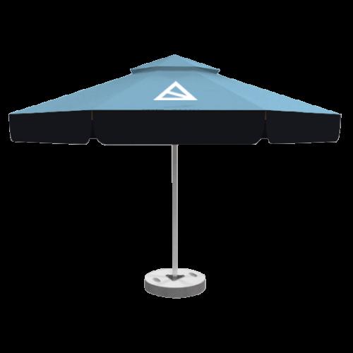 Sonnenschirm Doppeldach 8 Paneele 4m