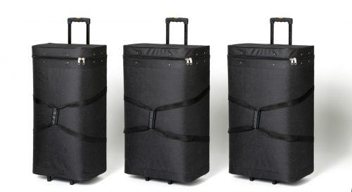 Transporttaschen für Messestand