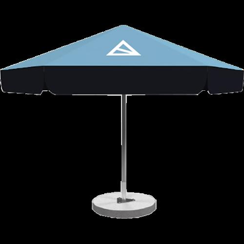 Sonnenschirme mit Paneelen 4m
