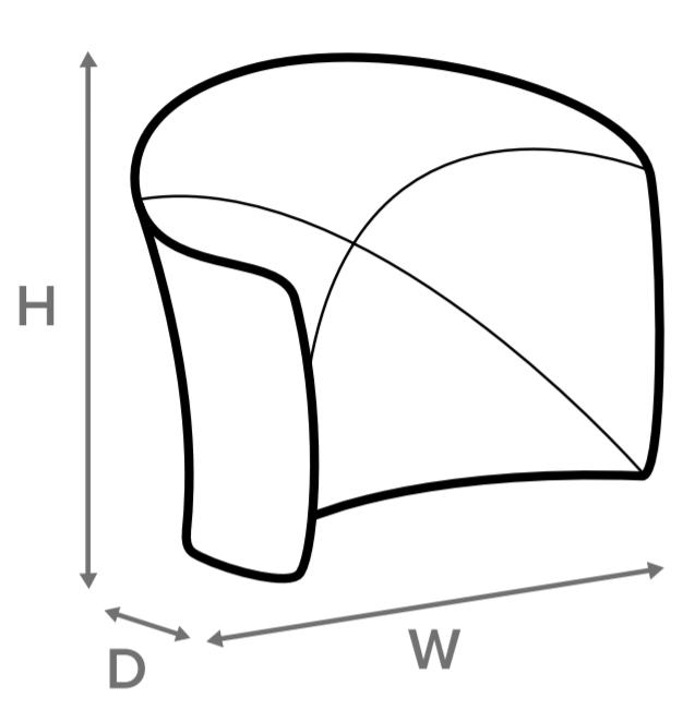 Skizze für Zipper Wall