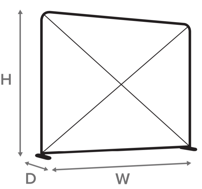 Skizze für Form von Zipper Wall