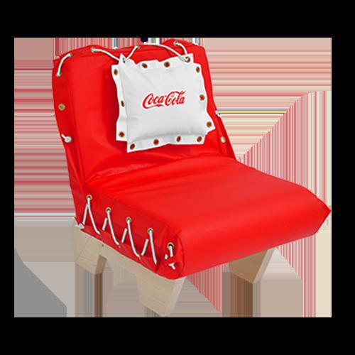 Bedruckbarer Outdoor Stuhl