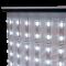 Nahaufnahme von LED-Lichtern an einer Werbetheke