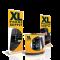 gelbe Werbetheken mit XL Phone Supply Logo