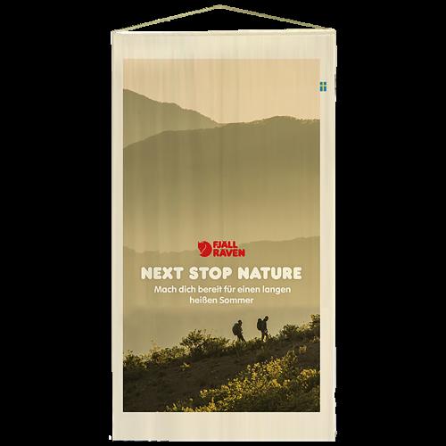 Produktbild POS Holzstab Banner
