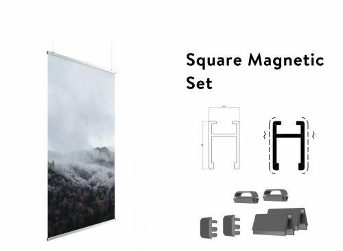 Magnete für Banner Aufhängung
