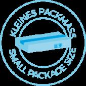 Kleines Packmass Symbol