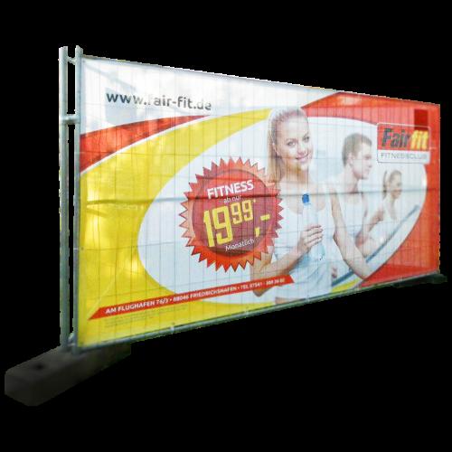 Bedruckbarer Mesh Banner