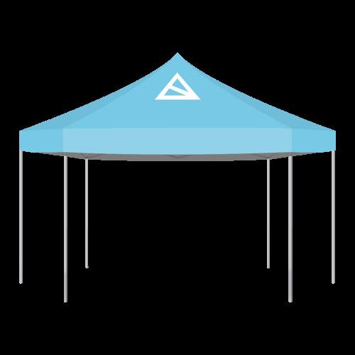Logotent Sechseck Zelt 3m und 6m