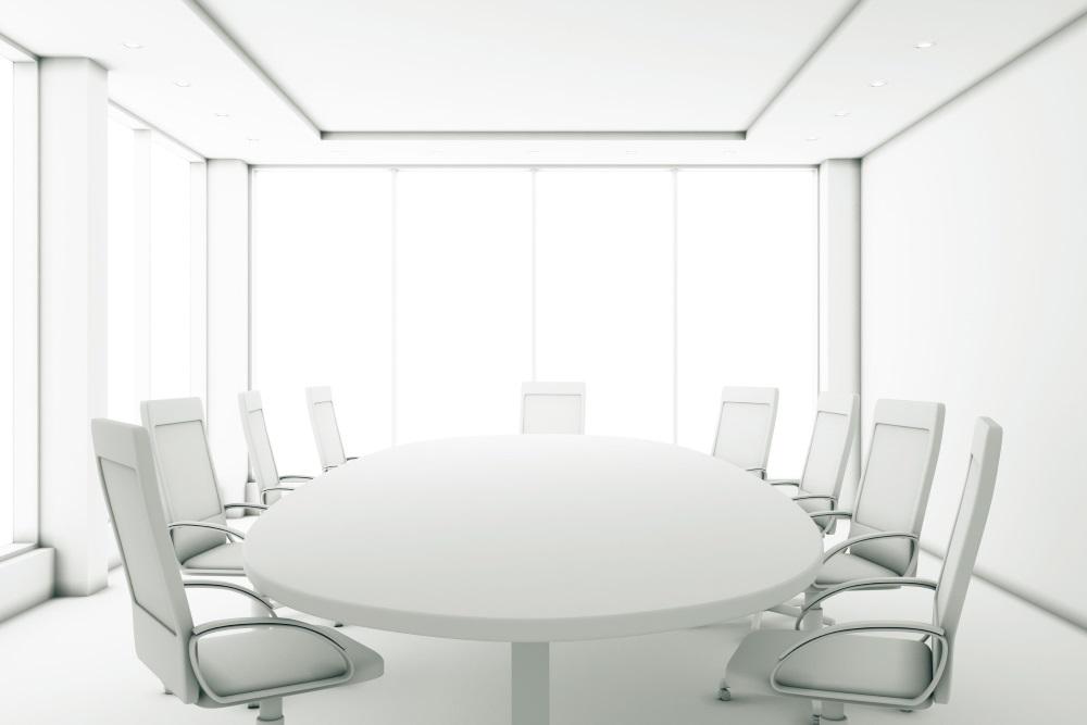 Konferenztisch mit Stühle