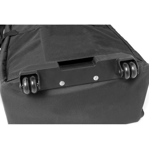 Koffer mit Rollen für Werbetheke