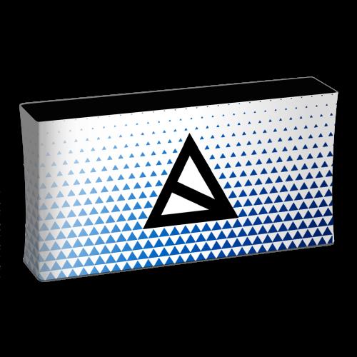 Werbetheke Zipper Counter Maxi mit Druck