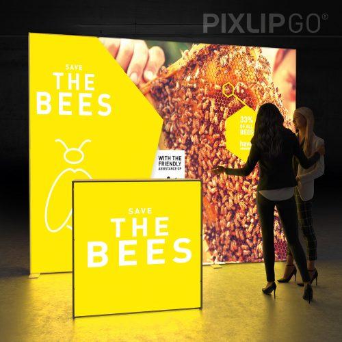 Produktbild LED Theke Pixlip GO Lightbox Counter L