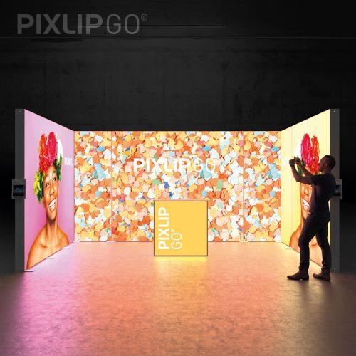 LED Leuchtwand Pixlip