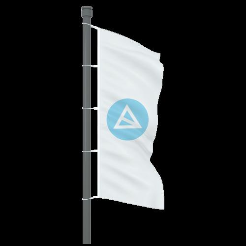 Fahne ohne Ausleger