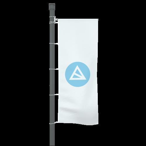 Fahne mit Ausleger