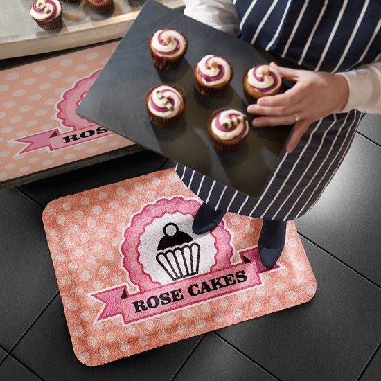 Produktbild Schmutzfangmatte mit Logo