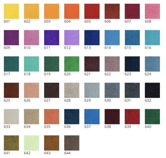 Farben für Schmutzfangmatten bedruckt