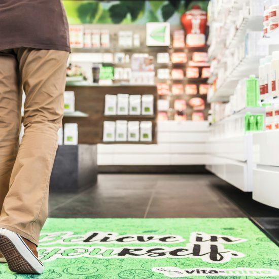 Produktbild Logomatte Outdoor oder Werbematte Outdoor