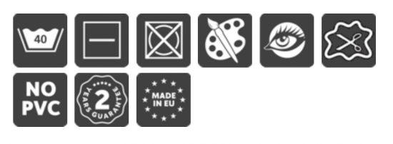 Zertifikate für Schmutzfangmatten bedruckt