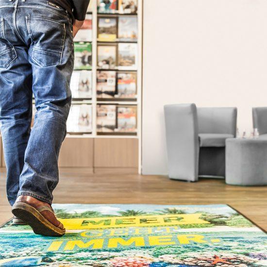 Produktbild Werbematte Foto Premium