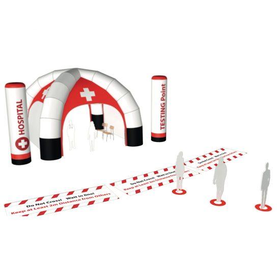 Produktbild Notfall- und Wartezelte