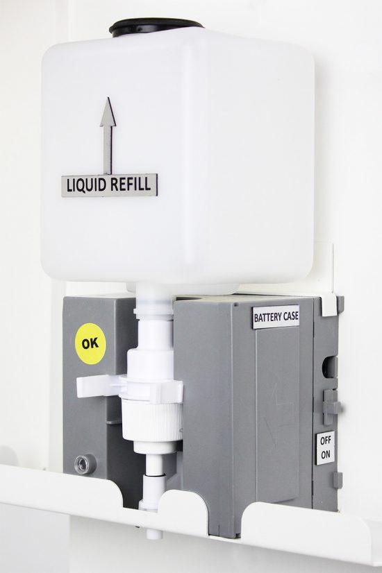 Desinfektionsspender berührungslos - Desinfektionsmittelspender Sensor - Desinfektionsmittelspender Standgerät